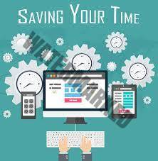 A website saves your time